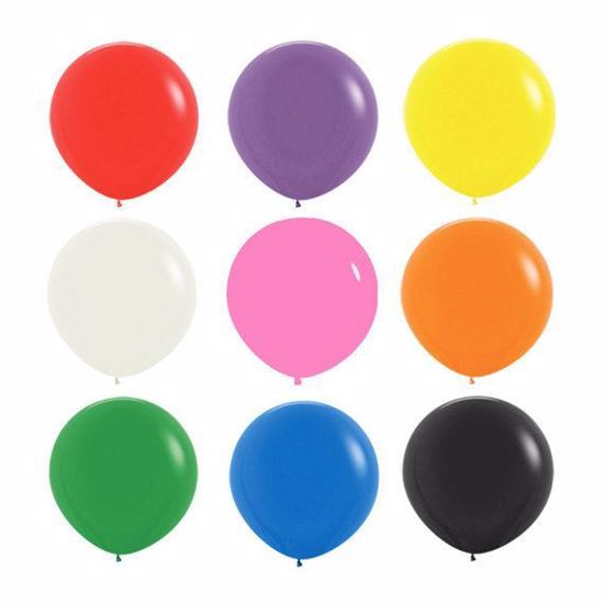 Picture of Gender Reveal Balloon Boy or Girl Baby Shower Oval