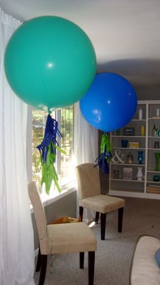 Picture of DUO Balloons Tassels Garland Wedding Decor