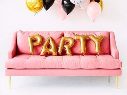 Picture of PARTY Letters 16 Inch 40 cm Foil Balloons Wedding Birthday