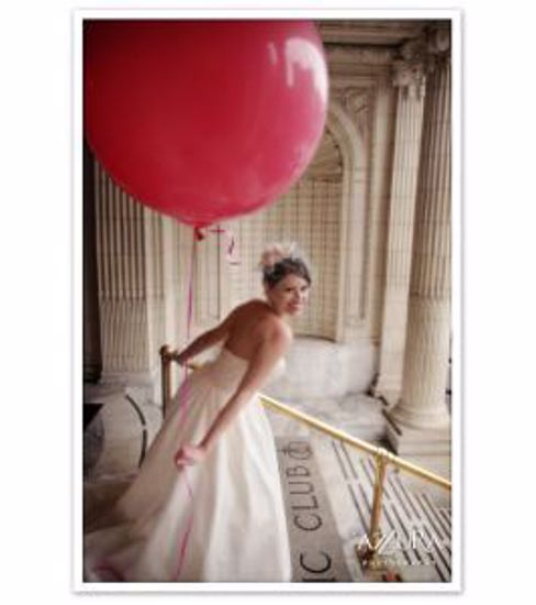 "Picture of Valentine's Huge Giant Red Balloons up to 36"" Wedding"