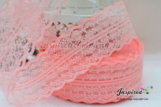 Picture of 2 meters Coral Wide 47 mm Lace
