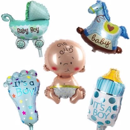Picture of Baby Shower Balloons Set Party Boy
