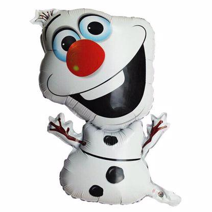 Picture of Olaf Frozen Disney Foil Party Balloon 72*43 cm Kids Birthday Theme