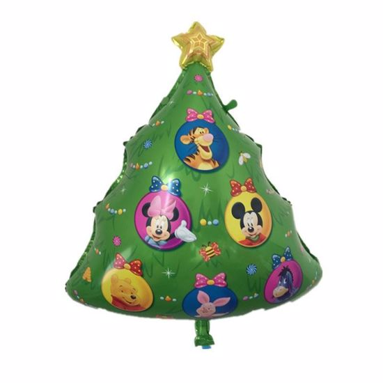 Picture of Christmas Tree Disney Super Shape Helium Foil Balloon Party Star