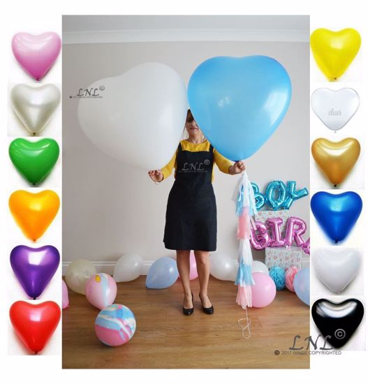 Picture of Wedding Balloons Heart