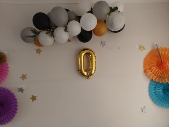 Picture of MRS  RING Rose Gold Silver Letter Balloons
