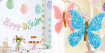 Picture of Happy Easter Glittery Banner