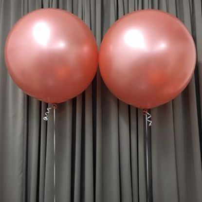Picture of Rose Gold Balloons 36""