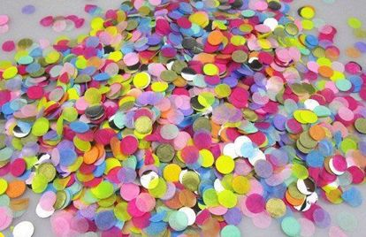 Picture of Princess Tissue Paper Confetti Balloons Pink Purple Silver