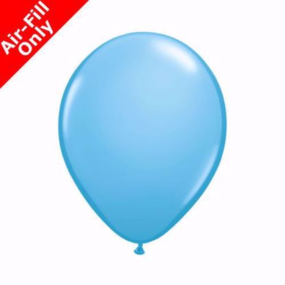 """Picture of 5"""" PALE BLUE COLOUR LATEX MINI BALLOONS (50)"""