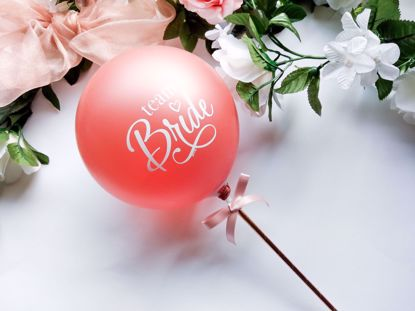 Picture of Balloon Cake Topper Bride To Be