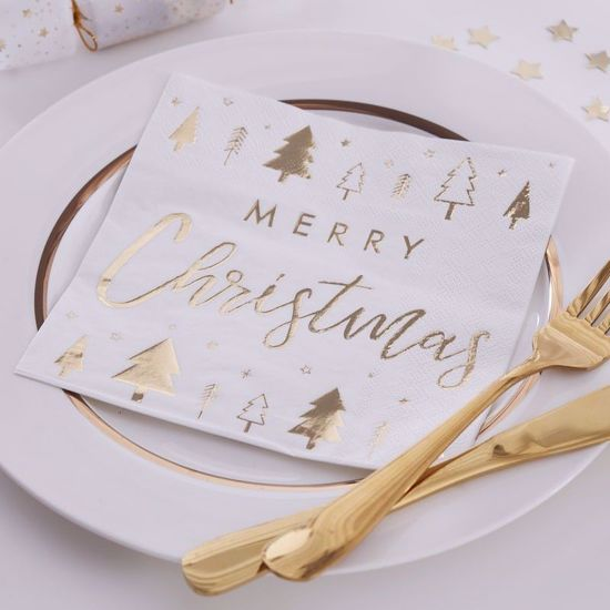 Picture of Merry Christmas Napkins