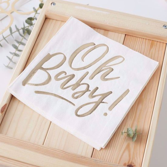 Picture of Oh Baby Paper Napkins