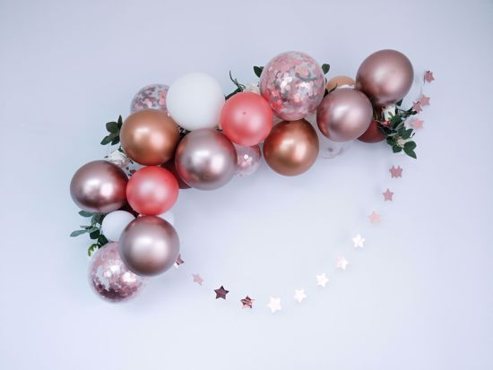 Picture of Rose Gold Balloon Arch Garland