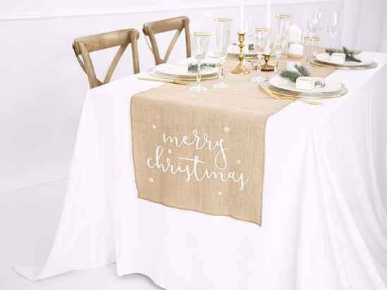 Picture of Merry Christmas Table Runner
