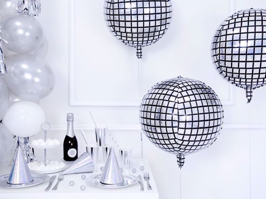 Picture of Disco Ball Party Christmas New Year Balloon