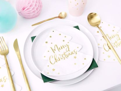 Picture of Merry Christmas Tree Napkins