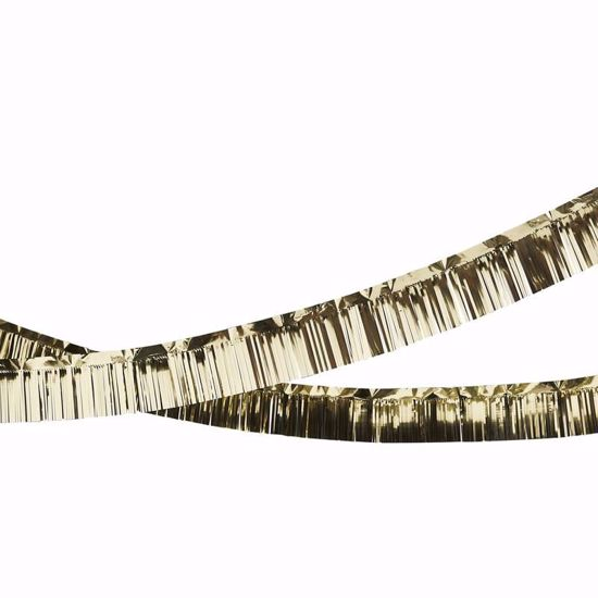 Picture of GOLD FOIL FRINGE GARLAND CHRISTMAS