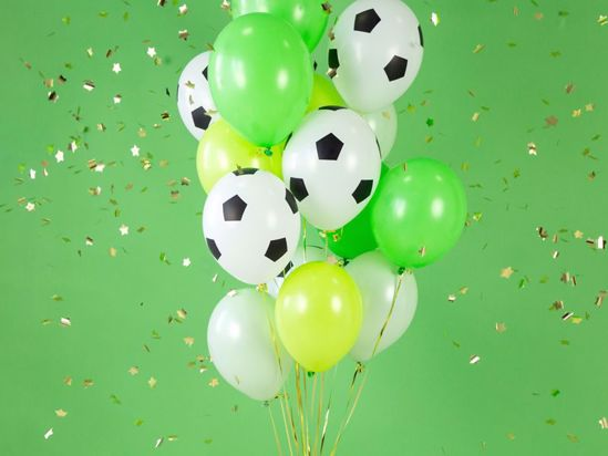 Picture of Football Balloons Bundle Bouquet