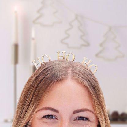Picture of HO HO HO METAL CHRISTMAS HEADBAND