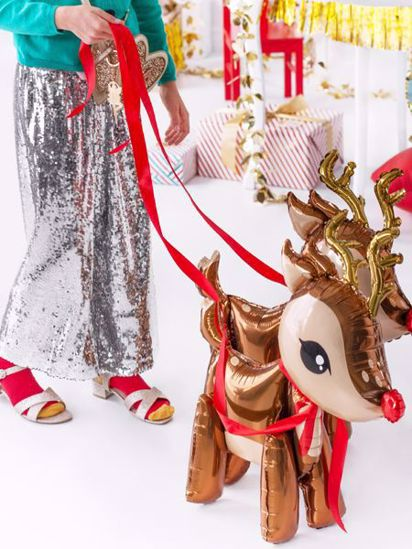 Picture of Deer Foil Balloon Christmas