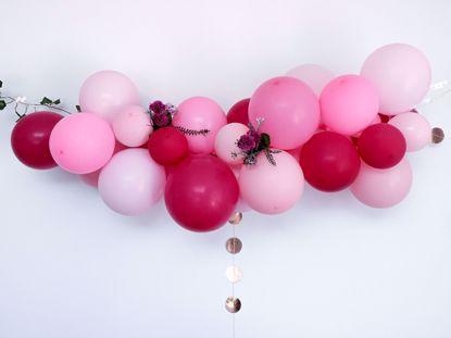 Picture of Pink Balloon Garland Kit Arch DIY