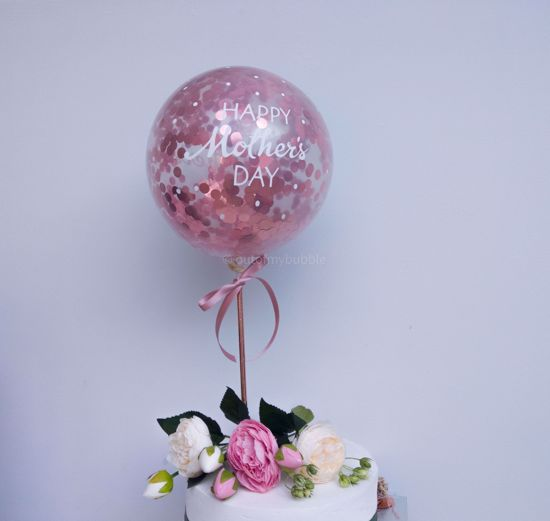 Picture of Happy Mothers Day Balloon Cake Topper